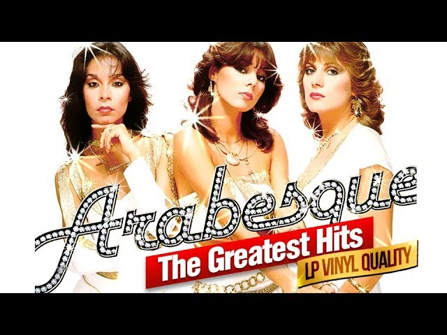 ARABESQUE — THE GREATEST HITS (Album)/LP Vinyl Quality