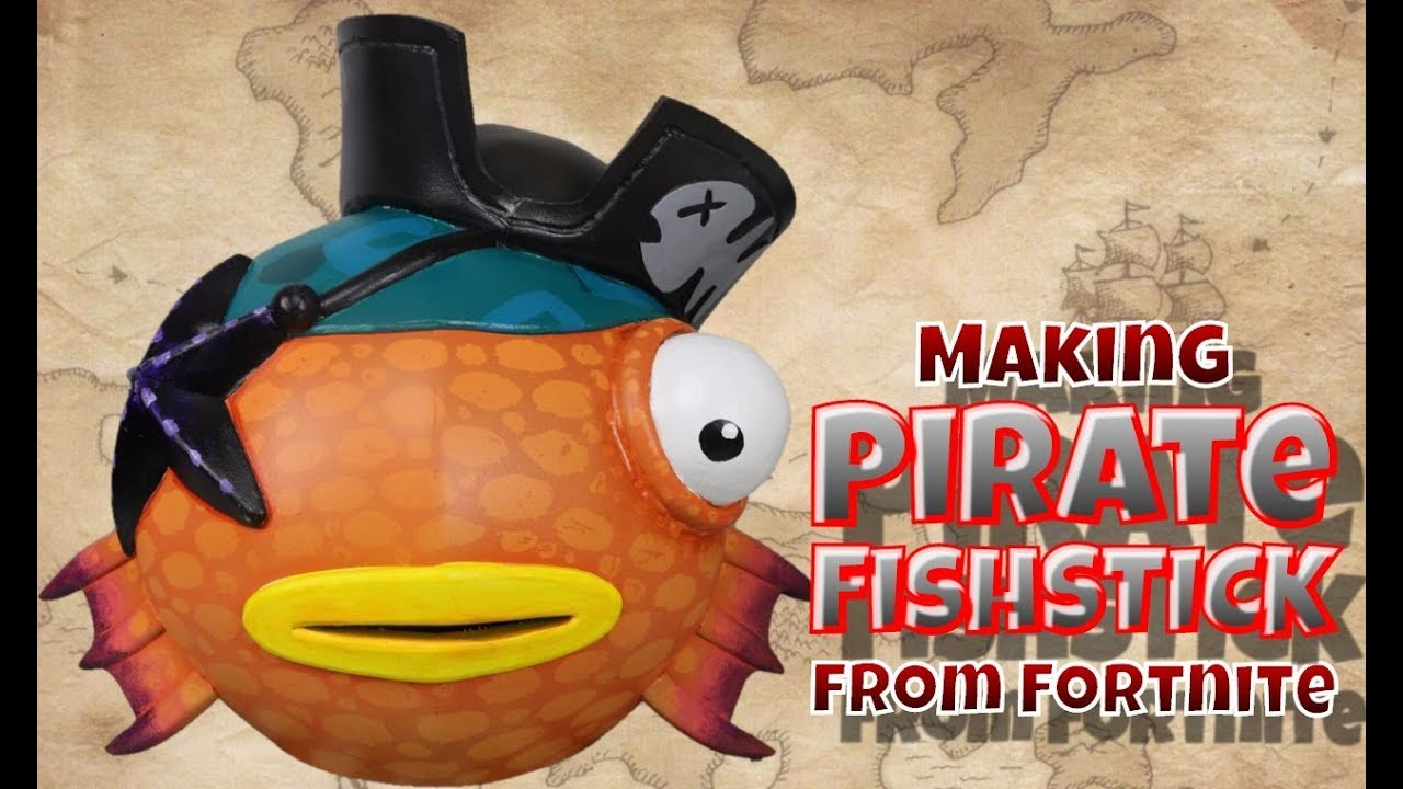 Making Pirate Fishstick From Fortnite Youtube