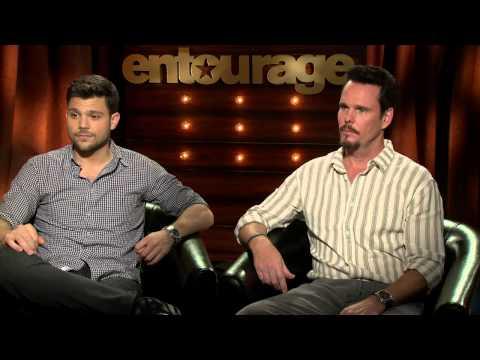 "Entourage: Kevin Dillon ""Johnny Drama"" &  Jerry Ferrara ""Turtle"" Official Interview"