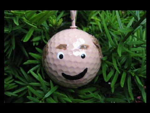 Golf Ball Craft Ideas