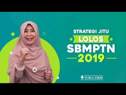 Strategi Jitu Lulus SBMPTN 2019