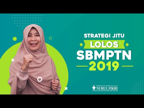 Strategi Jitu Lolos SBMPTN 2019