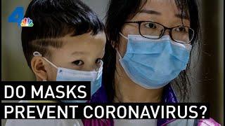 Do Masks Help Protect People from Coronavirus? | NBCLA