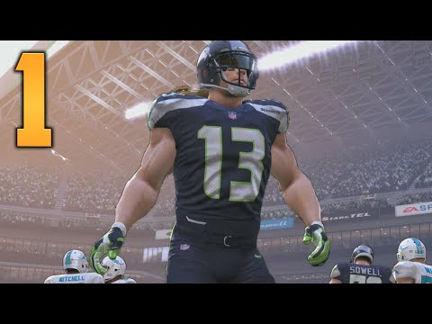 "Madden NFL 17 My Career/Franchise Gameplay - Part 1 ""THE WHITE BEAST MODE!"" (Xbox One Gameplay)"