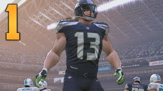 """Madden NFL 17 My Career/Franchise Gameplay - Part 1 """"THE WHITE BEAST MODE!"""" (Xbox One Gameplay)"""