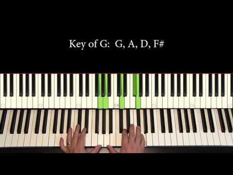 Piano Tutorial 7: Voicing common tones