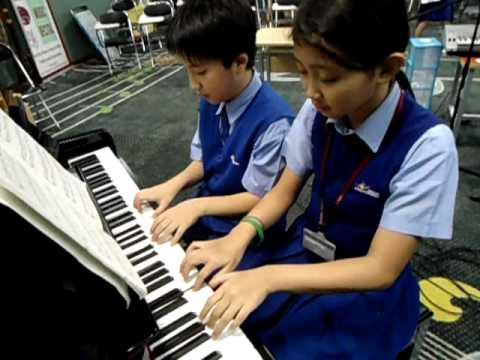 Piano Duet Dini and Theo  for ACP Culmination Program