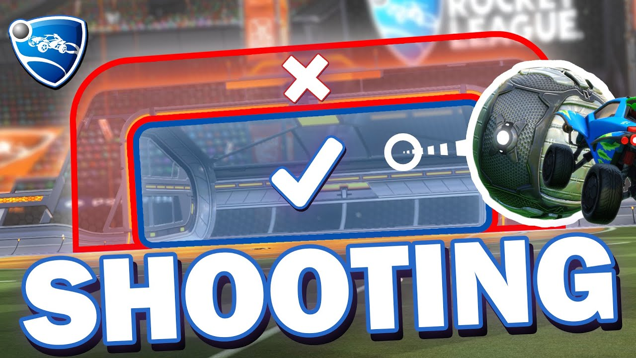 How To Shoot EFFECTIVELY In Rocket League