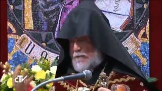 English Speech Of Aram I. About The Armenian Genocide    Vatican