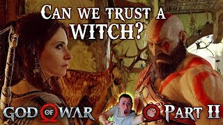 CAN WE TRUST A WITCH !? | Part 2 ► God of War 2018 PS4 🔴 Live Rewind
