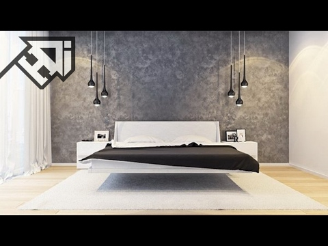 30 Striking Bedrooms That Use Concrete Wall Designs - HOME DESIGN ideas