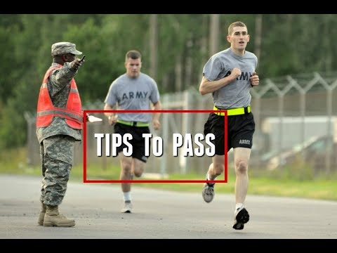How to Prepare for the ARMY Physical Fitness Test | My Tips to Pass