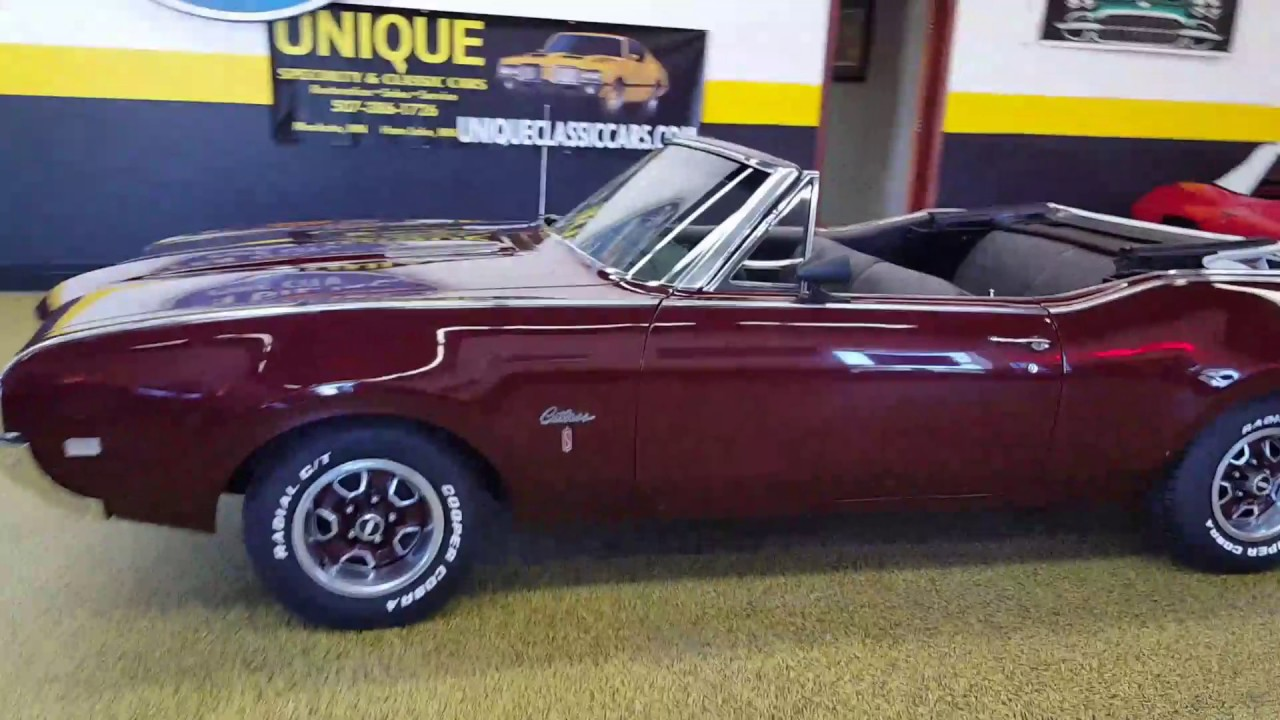 1968 Oldsmobile Cutlass S Convertible For Sale