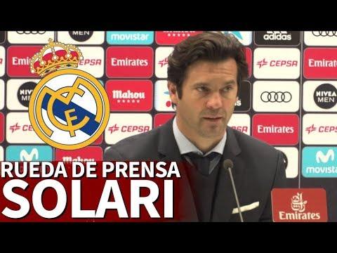 Rueda de prensa de Solari, nuevo entrenador del Real Madrid | Diario AS