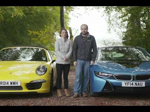BMW i8 vs Porsche 911 Targa TELEGRAPH CARS