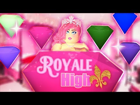 Getting The GIANT DIAMOND 10 TIMES! Roblox Royale High 👑 SECRET SPAWN GEMS 💎