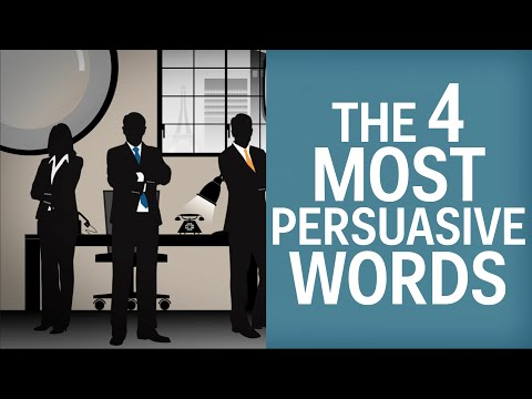 The 4 Most Persuasive Words In The English Language