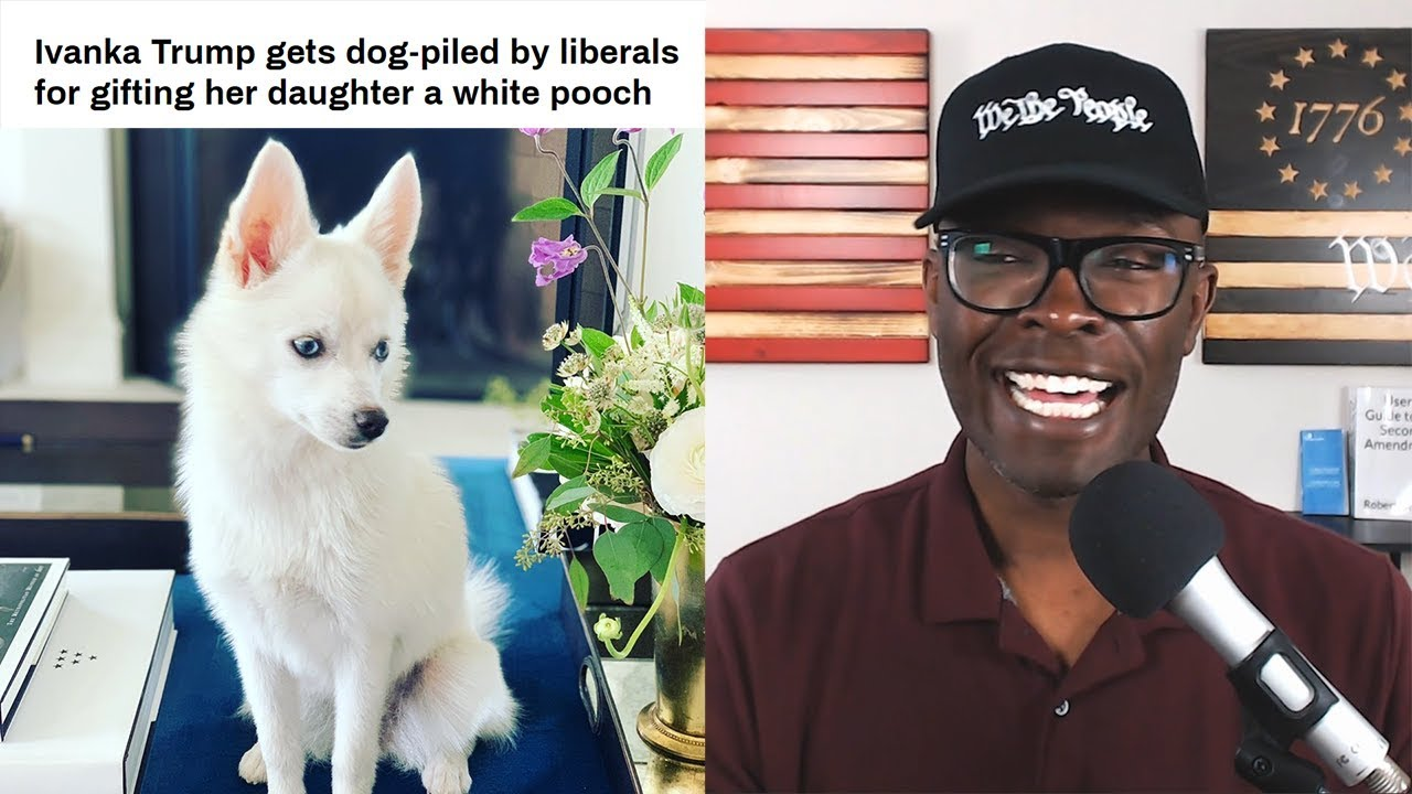 ABL Ivanka Trump's WHITE Puppy Dog Is PROBLEMATIC!