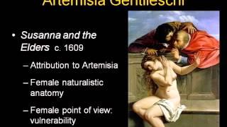 ARTH 4117 Italian Baroque 1: Artemisia Gentileschi