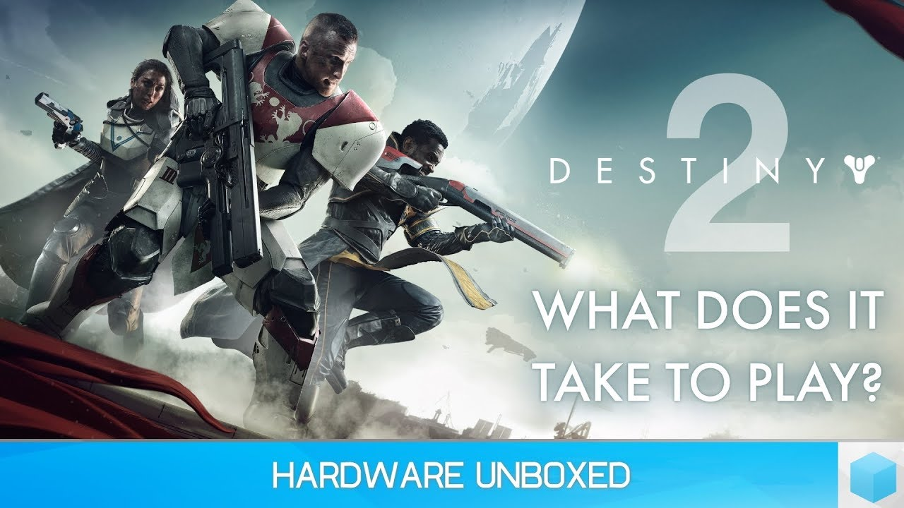 Destiny 2, What Does It Take to Play? 1440p @ 60fps