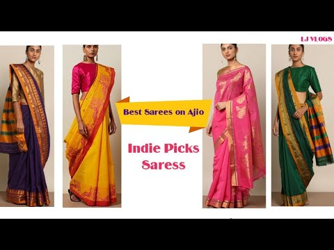 a4114ae176174 Indie Picks Best Women Sarees | Only on AJIO. - YouTube