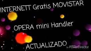 Internet MOVISTAR Guatemala (Opera mini Handler)