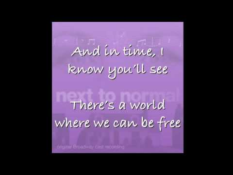 There's a World - Next to Normal w/ LYRICS
