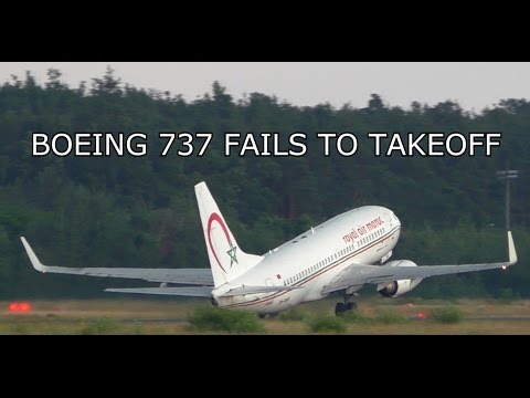 Thumbnail: PASSENGER AIRCRAFT FAILS TO TAKEOFF! BOEING 737 NEAR TAIL STRIKE & STALL ON TAKEOFF