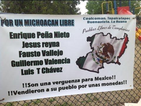 Por un Michoacán Libre - Manifestación de apoyo en Long Beach, CA. ...