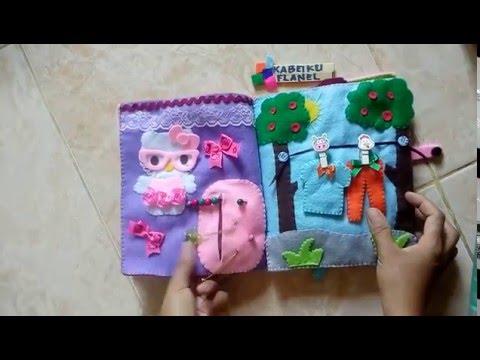 Busybook Felt (Buku Edukasi) Part 3