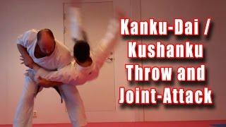 Practical Kata Bunkai: Kanku-Dai / Kushanku Throw and Joint-Attack