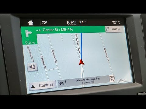 2019 Ford Fusion Energi: Exploring the GPS
