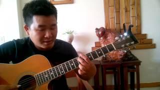 [HƯỚNG DẪN] Một mình - Lam Phương - Guitar Solo