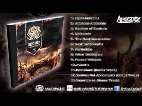 Lost Soul - Atlantis The New Beginning (FULL ALBUM DELUXE EDITION 2015/HD) [Apostasy Records]