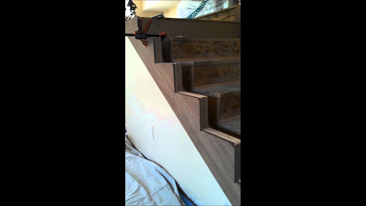 Mitering Stair Skirt Boards Part 6