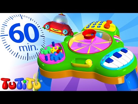 TuTiTu Specials | Activity Table | And Other Learning Toys | 1 HOUR Special
