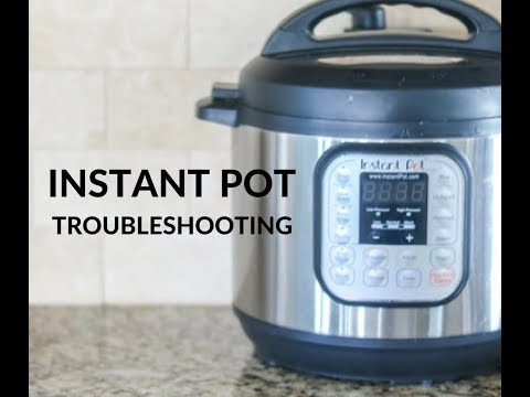 HELP! MY Instant Pot Won't Seal!