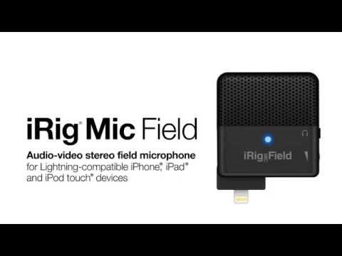 iRIG MIC HD 2 (Apple iPhone, iPad, MAC and PC) - YouTube