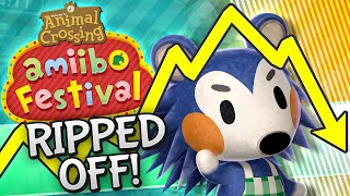 Animal Crossing Amiibo Festival - RIPPED OFF!