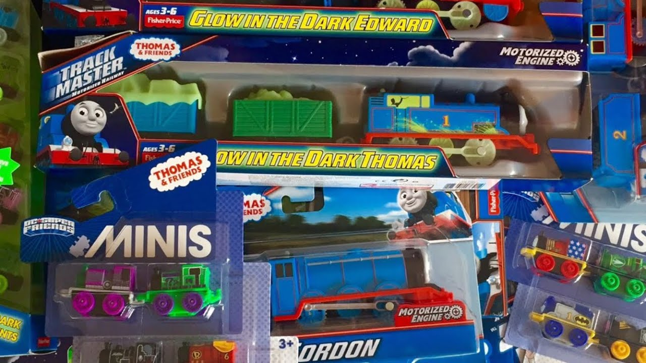 Mega toy haul from TOYS R US Thomas and Friends Toy Trains - YouTube