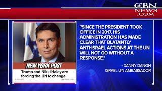 Why Ingrained U.N. Bias Against Israel May Be Crumbling