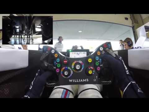 Desde la vista del piloto f1