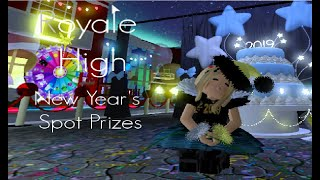 Roblox Royale High | New Year Prize (Read description for duration.)