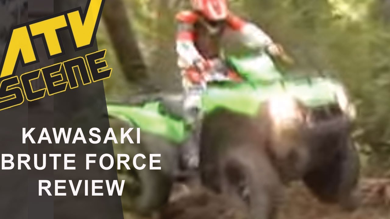 Kawasaki Brute Force 650 Youtube