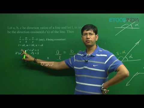 CBSE I Mathematics I Three-dimensional Geometry I Manoj Chauhan(MC )Sir From ETOOSINDIA.COM