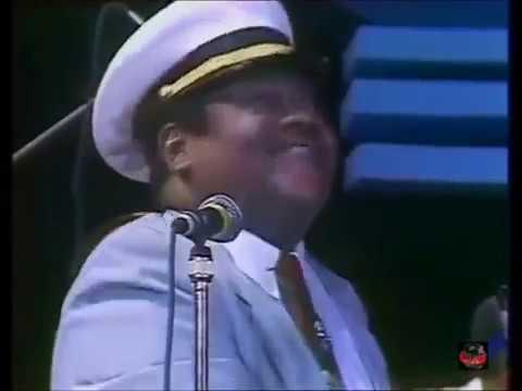 Fats Domino - Antibes Jazz Festival, France - July 17, 1987