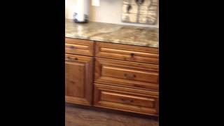 Knotty Maple Kitchen Cabinets