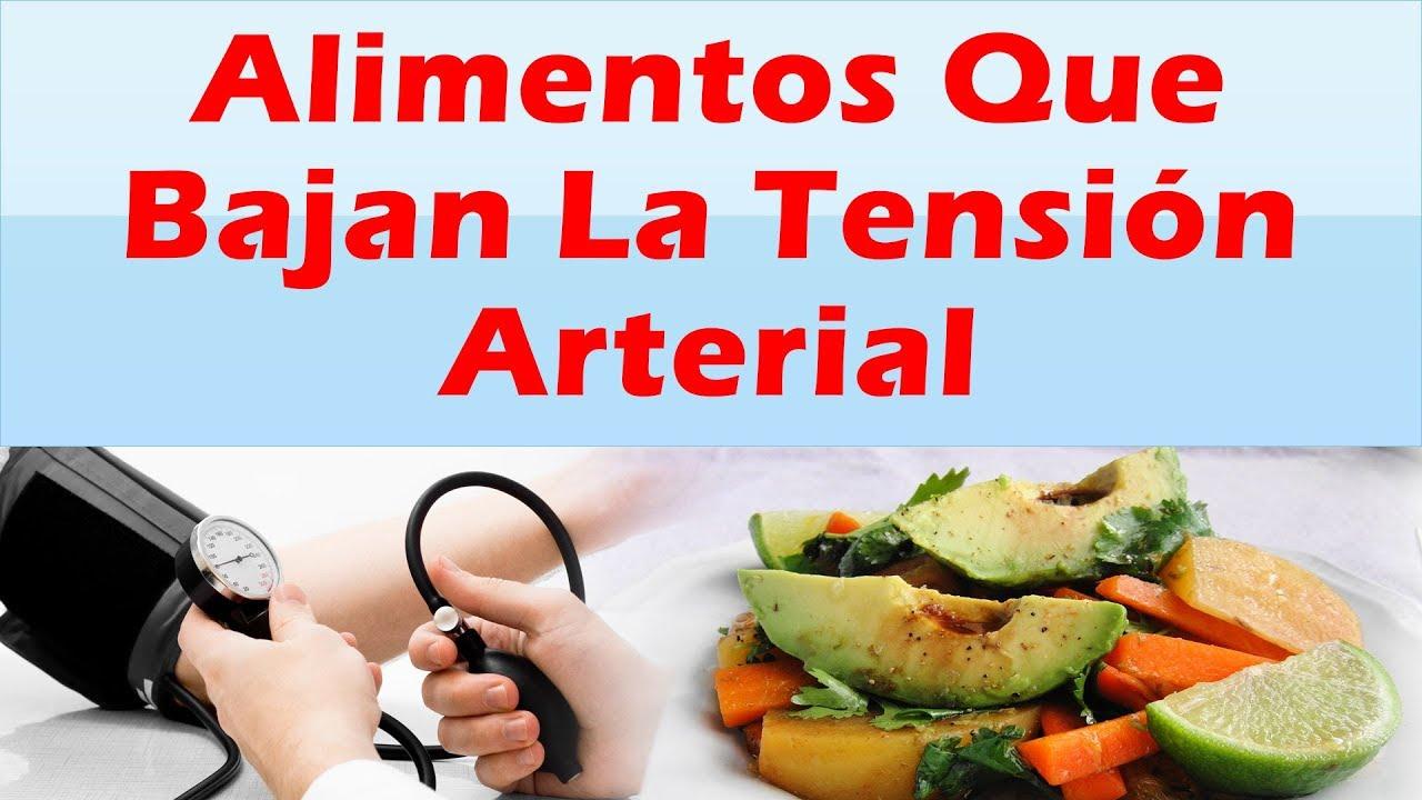 Alimentos que bajan la tension como bajar la tension alta alimentos para bajar la presion youtube - Alimentos que suben la tension ...