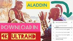 How to download Aladdin movie in English/Tamil/Telugu/Hindi. *Full movie*.In full HD.100%ProoF
