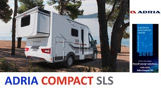 Автодом со слайдером от Adria - Compact SLS. 2018